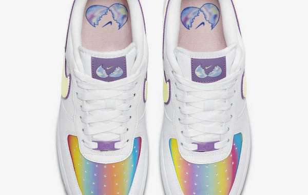 """Nike Air Force 1 Low """"Easter"""" CW0367-100 2021 Hot sell"""