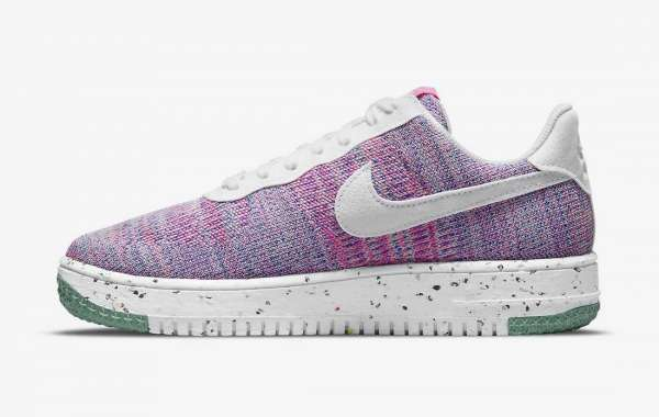 Nike Air Force 1 Flyknit 2.0 Pink Purple DC7273-500 Already On Sale