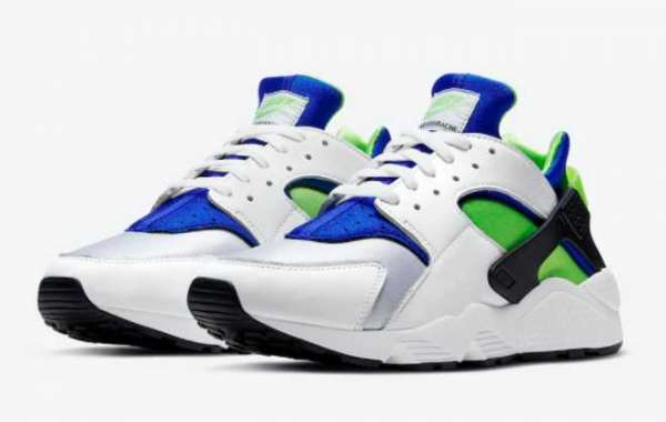 "Nike Air Huarache OG ""Scream Green"" Men's Running Shoes DD1068-100"