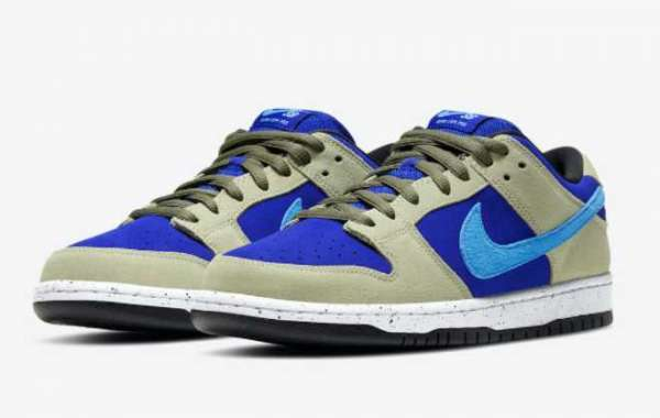 """BQ6817-301 Nike SB Dunk Low """"Celadon"""" will be released in April"""