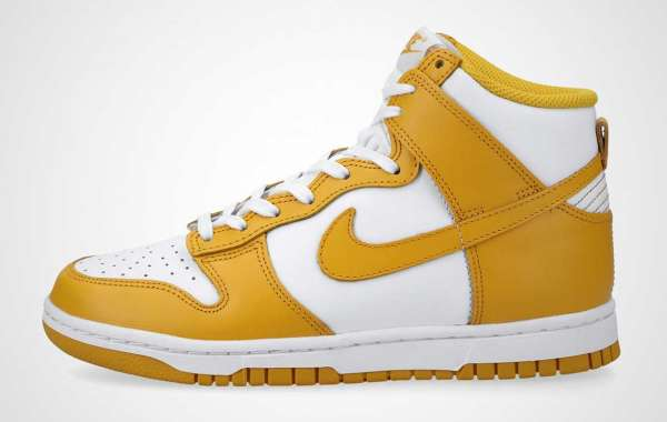 "Where To Buy Nike Dunk High"" Dark Sulphur"" DD1869-106 ?"