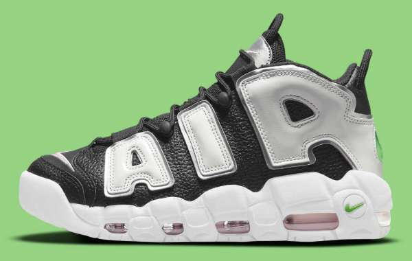 """DN8008-001 Nike Air More Uptempo """"Black/Silver"""" will be released in autumn"""