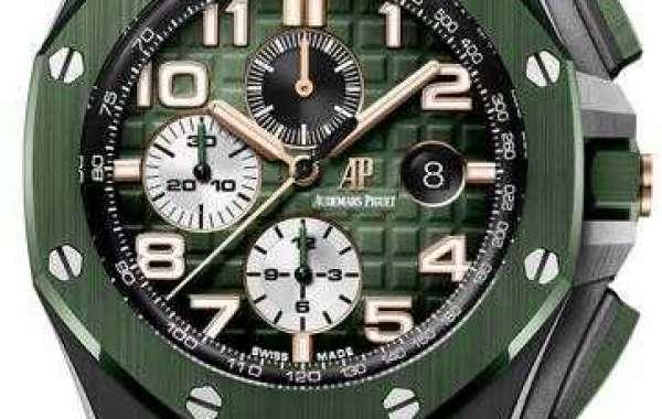 Audemars Piguet Royal Oak Offshore Flying Tourbillon Chronograph Titanium 26622TI.GG.D002CA.01 Replica Watch