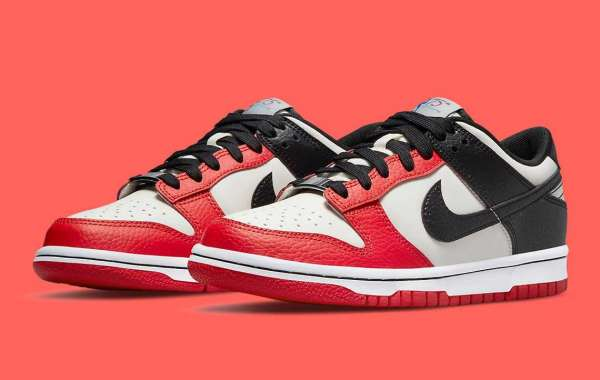 """NBA x Nike Dunk Low EMB """"Diamond Anniversary"""" DD3363-100 will be released in October"""
